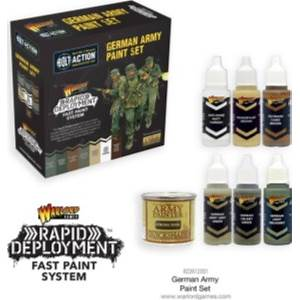 Rapid Deployment Fast Paint System - German Army Paint Set