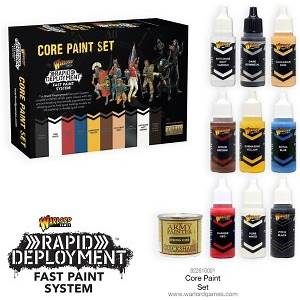 Rapid Deployment Fast Paint System - Core Paint Set