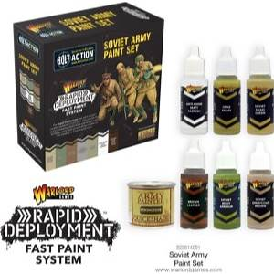 Rapid Deployment Fast Paint System - Soviet Army Paint Set