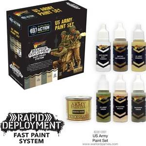 Rapid Deployment Fast Paint System - US Army Paint Set
