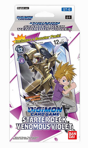 Digimon Card Game: Venomous Violet (ST-6)