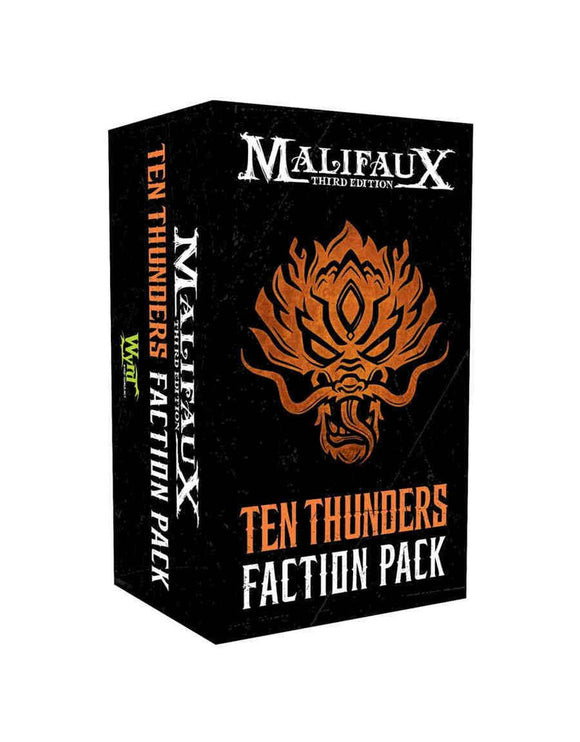 Ten Thunders Faction Pack (Full faction card pack)