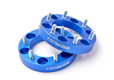 TMT WHEEL SPACERS FOR LAND CRUISER SERIE 80 -  6 LUGS