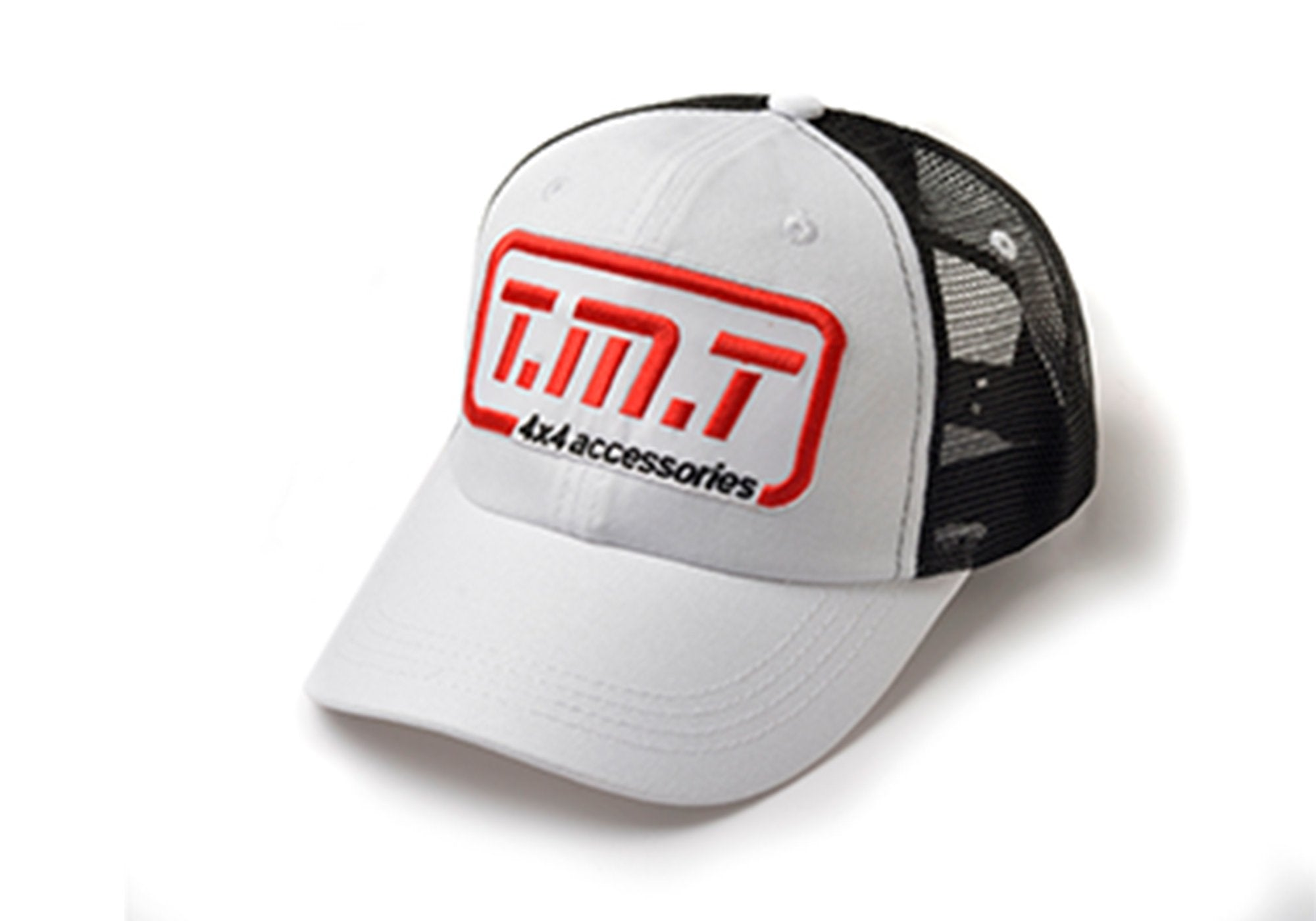 TMT CAP WHITE & BLACK