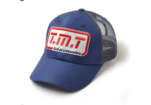 TMT CAP BLUE & GRAY