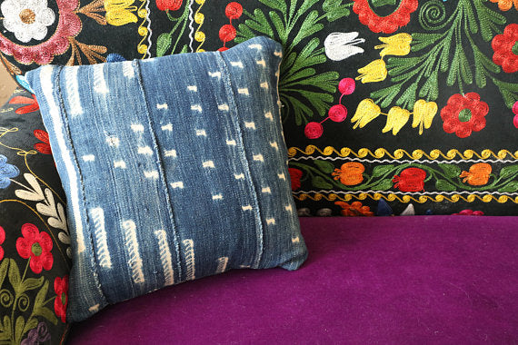 Indigo Handmade Pillow