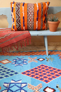 Moroccan Pillow Orange Crush