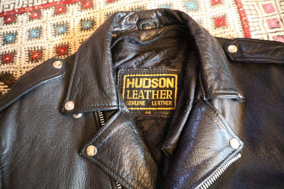 Vintage 1980's Hudson Leather Jacket