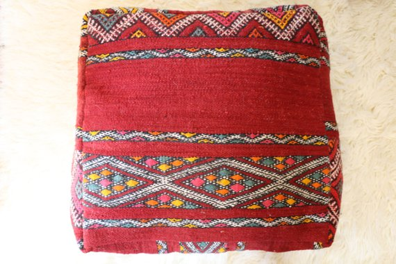 Moroccan Pouf Floor Cushion