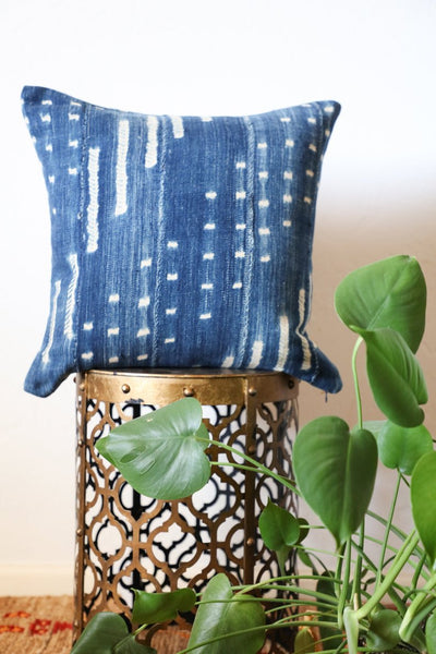 Indigo Handmade Large Pillow Cover