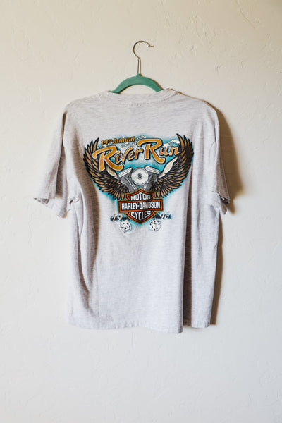 Vintage Harley Davidson 1997 14th Annual River Run Laughlin Tee