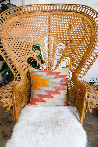 Turkish Kilim Throw Pillow