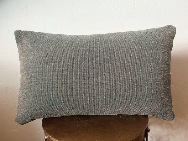 Copper Mudcloth Lumbar Pillow