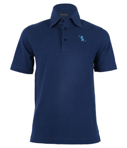 Navy Jersey Polo, Size XS