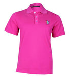 Pink Jersey Polo Tee