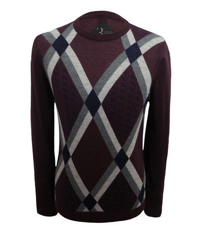 Maroon Cashmere Sweater