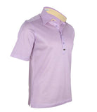 Lilac Polo Shirt, Size 4XL