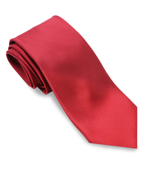 Red Silk Tie Set