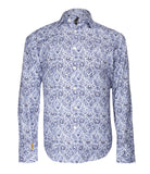 Blue Paisley Shirt Paris