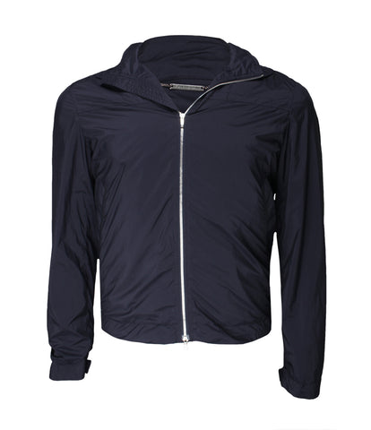 Navy Blue Outwear Jacket