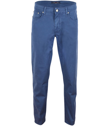 Blue Cotton Chinos, Size 46