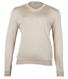 Silk Light Brown Knitwear