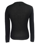 Black Silk Knitwear