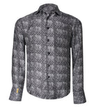 Patterned Silk Shirt Paris