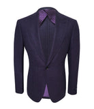 Violet Wool Jacket, Size 3XL