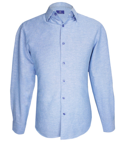 Signature Blue Shirt, Size 40