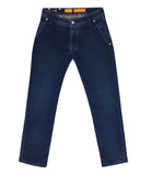 Denim Blue Cotton Jeans