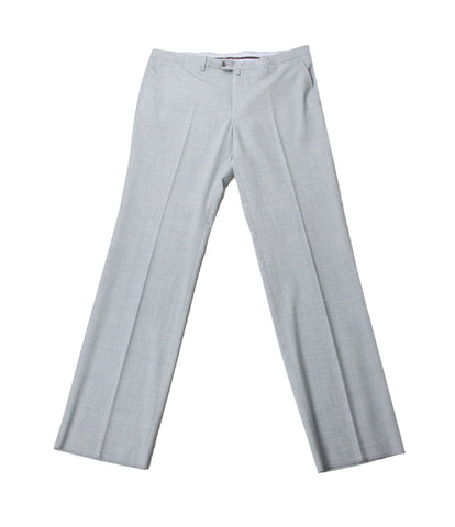 Grey Wool Formal Pants