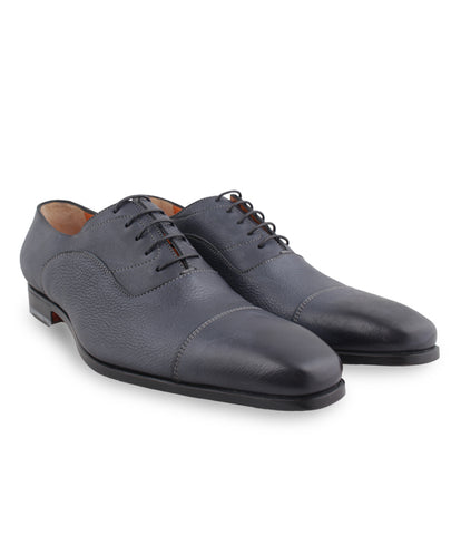 Bluish Black Oxford Shoes