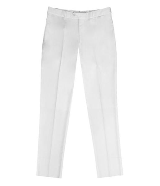 Ivory White Formal Pants