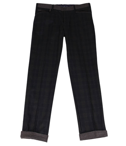 Charcoal Grey Wool Pants