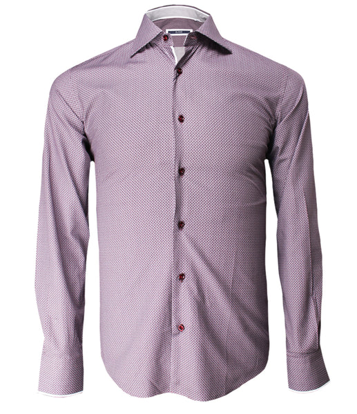 Violet Patterned Shirt