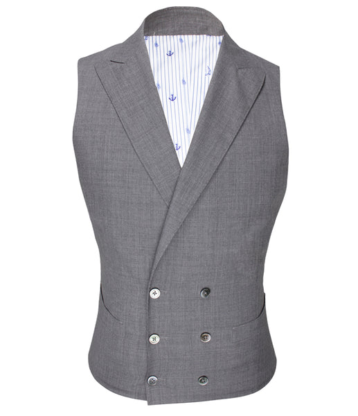 Double-Breasted Vest, Size 38
