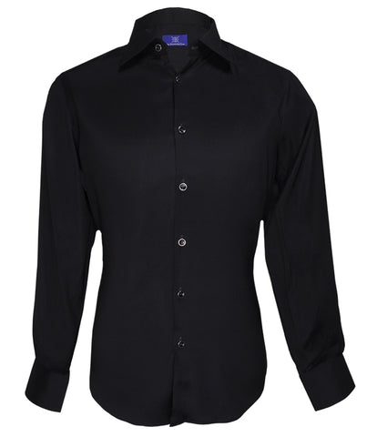 Signature Black Shirt, Size 40