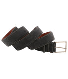 Dark Grey Suede Belt