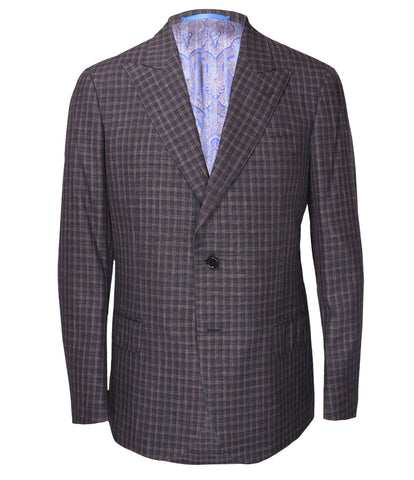 Purple Checked Jacket