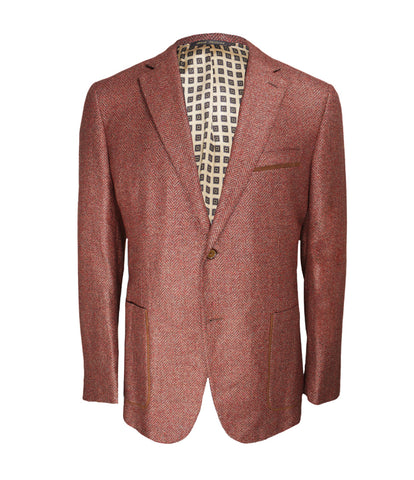 Luxury Terra-Cotta Jacket