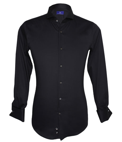Signature Black Shirt, Size 39