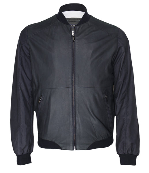 Black Leather Jacket, Size 50(M)