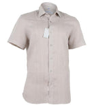 Linen Brown Linen Shirt