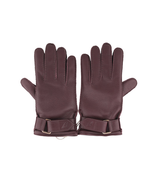 Leather Cherry Gloves