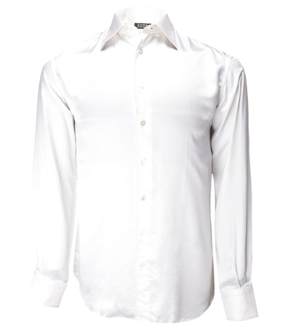 White Silk Shirt Dixie