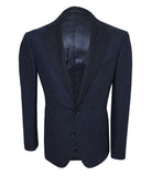 Blue Wool Sport Jacket