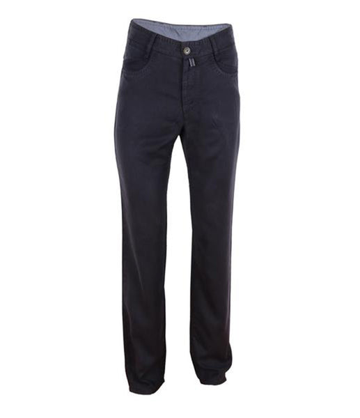 Black Lyocell Chinos, Size 46