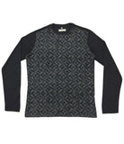 Navy Silk Knitwear