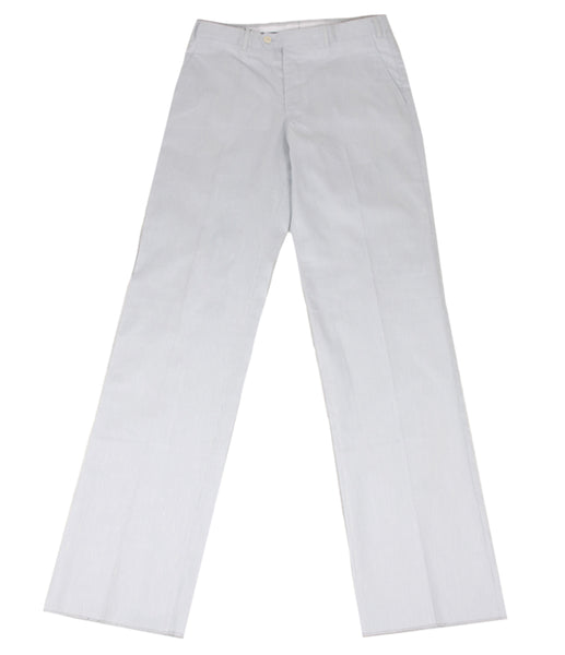 Light Blue Cotton Linen Pants